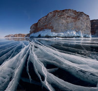 15 потрясающих замёрзших водоёмов, которые выглядят как произведения искусства
