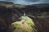 23 неземных снимка странников среди чудесных ландшафтов