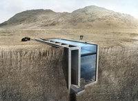 Из этого дома, встроенного в скалу, открывается удивительный и устрашающий вид