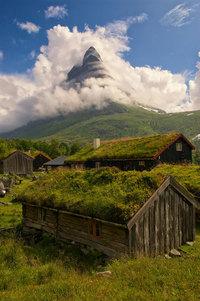 16 снимков архитектуры Норвегии, которые будто сошли со страниц сказки