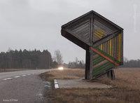 Канадский фотограф проехал 30 000 км, снимая советские автобусные остановки