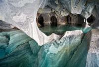 Мраморные пещеры - места неземной красоты
