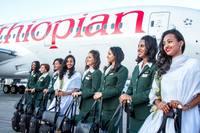В Эфиопии запустили первый  в мире авиарейс, на котором работают только женщины