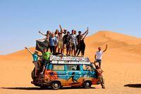 Эти ребята посетили 50 стран, тратя не более 8 долларов в день!