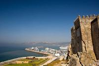 Танжер. Вид на порт из старой крепости (Касбы)