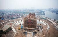 В Китае представили эпическую статую бога войны весом в 1320 тонн