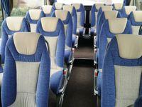 Автобус компании FlixBus (вид изнутри)