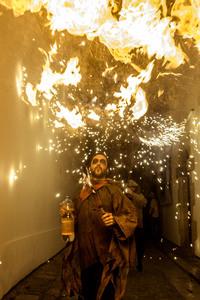 11 впечатляющий снимков с испанского праздника Санта-Текла