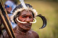 7 колоритных фото представителей племени дани с острова Новая Гвинея