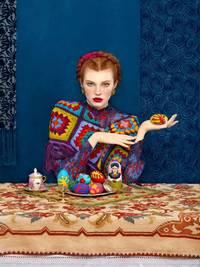 8 красочных фото московского фотографа, воспевающих красоту славянского фольклора