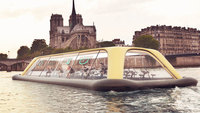 Теперь сплавиться по Сене и посмотреть Париж можно с пользой для фигуры!
