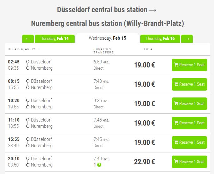 самостоятельно расписание поездов с мюнхена до франкфурта основой