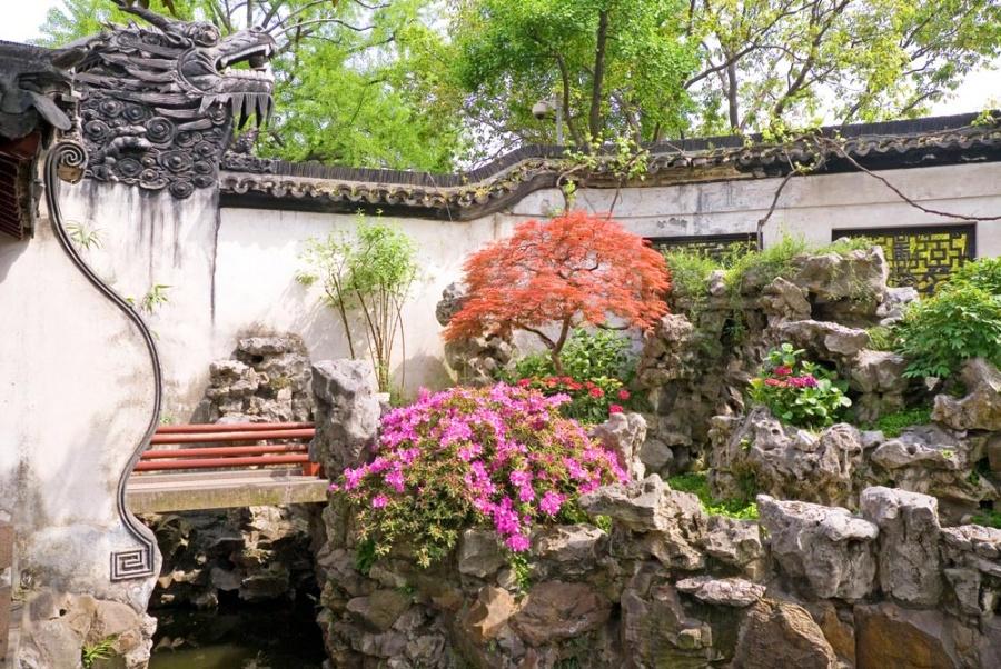 Шанхайский сад Юй Юань