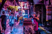 10 ярких ночных фото неоновых улиц Бангкока