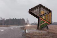 Фантастические автобусные остановки эпохи СССР