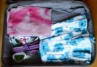 Укомплектованный чемодан для отдыха