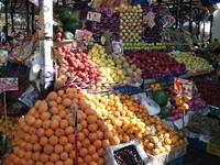 Фрукты на рынке в Хургаде