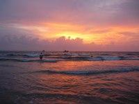 Закат на Гоа, октябрь