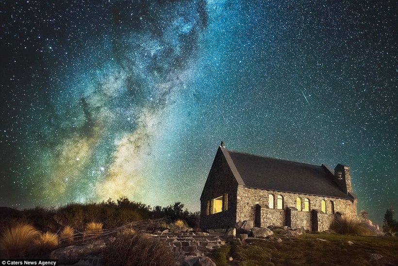 Лучшее место для наблюдения за звездами: фантастические пейзажи Новой Зеландии