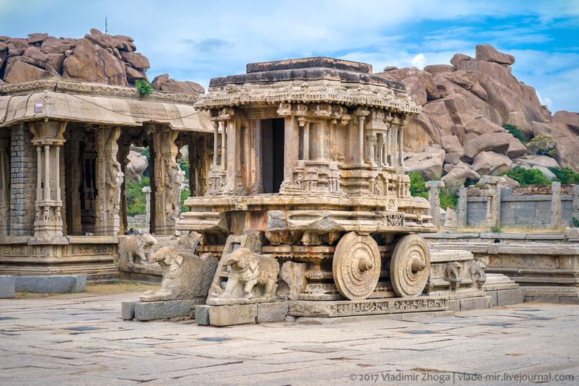 Хампи — руины великой империи в сердце Индии