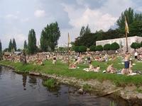 Пляж Злуте Лазне, Прага
