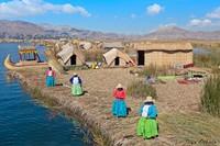 Что заставило племя урос строить плавучие острова на озере Титикака