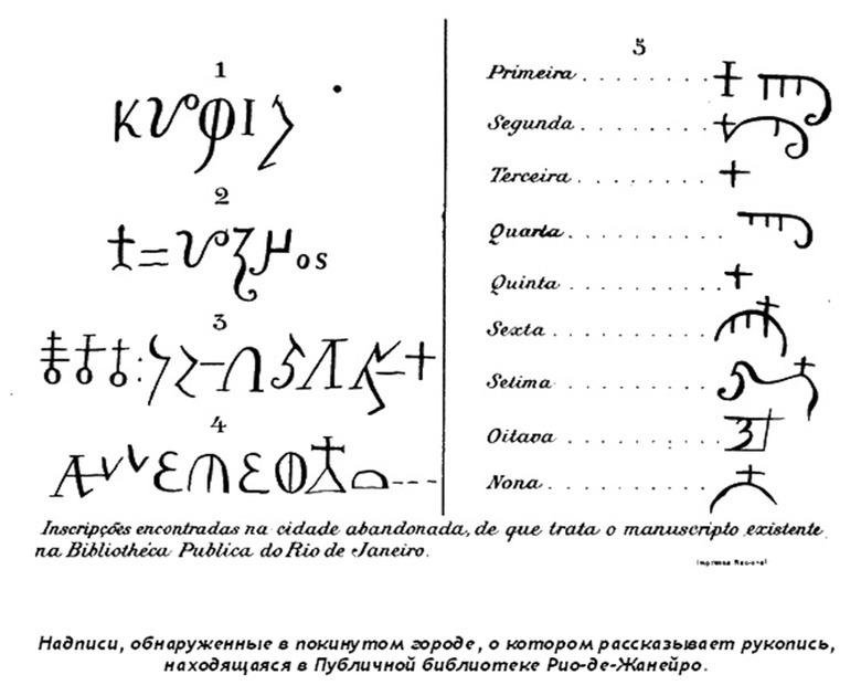 Манускрипт 512: как португальцы нашли руины греко-римского города в джунглях Бразилии