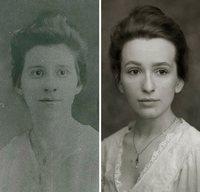Сквозь десятилетия: наши современники воспроизводят снимки своих бабушек и дедушек