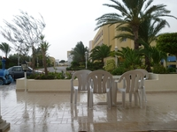 Дождь над Тунисом