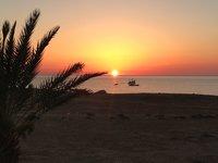 Закат в Тунисе