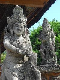 Скульптуры на Бали