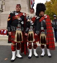 Самые оригинальные мужчины: почему юбки стали частью национального костюма шотландцев