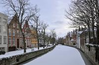 Брюгге в январе
