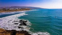 Пляж в Taghazout