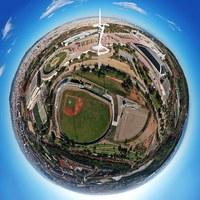 10 удивительных аэроснимков о том, как бы выглядела Барселона, если бы была планетой