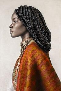 Исполненные силы и красоты портреты африканских иммигрантов, живущих в разных странах