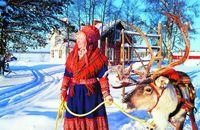 Саамы: народ Лапландии, у которого есть гимн и флаг, но нет государства