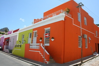 В Кейптауне много ярких домов