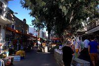 Торговая улица в Бодруме