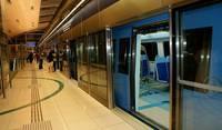 На станции метро в Дубае