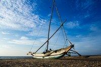 На пляже Негомбо