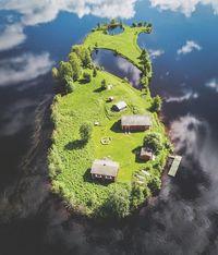 Фотограф запечатлел фантастическую красоту финского острова Котисаари в 4 сезонах