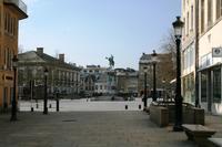 Люксембург, на улицах в дневное время