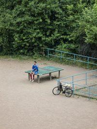 """Японский фотограф 5 лет """"шпионил"""" за столиком для пинг-понга в Германии"""