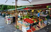 В Хорватии на рынке