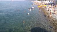 побережье Черного моря в Лазаревском в мае
