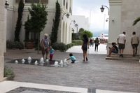 Черногория, на улицах города в Тивате