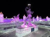В парке Harbin Ice