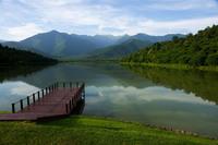 Озеро Кварели в Кахетии