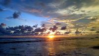 Роскошный закат в Хиккадуве